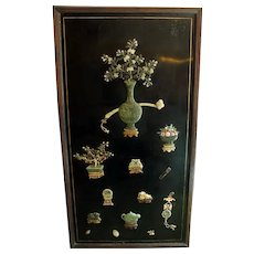Qing Dynasty Chinese Panel