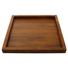 MCM Wooden Square Tray