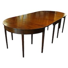 Federal Hepplewhite Style Dining Table