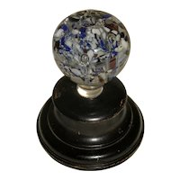 Late 19th Century Glass Jack-in-the-Pulpit Paperweight