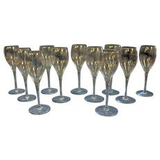 Set of 10 Baccarat Cordials