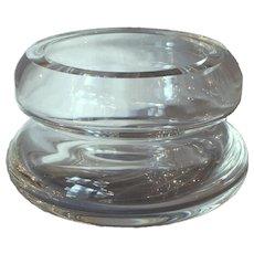 Steuben Floating Flower Bowl