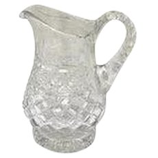 Anglo-Irish Glass Pitcher