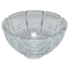 Orrefors Panelled Bowl