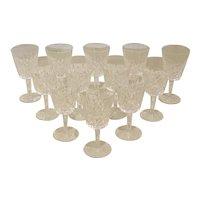Set of 12 Water Goblets