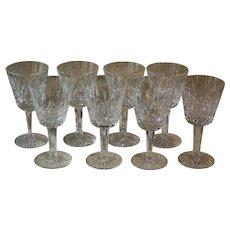 Set of 8 White Wine Glasses