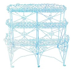 Large Wire Work Plant Stand
