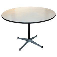 Knoll Circular Iron Table