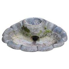 Shell Shaped Fountain Base