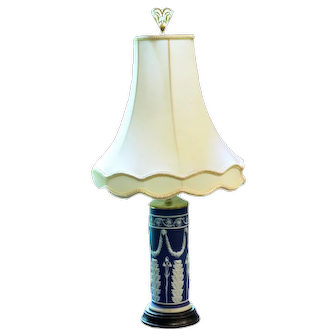 Wedgwood Vase Lamp