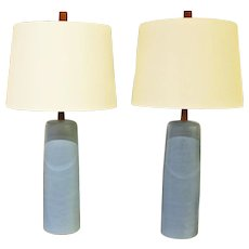 Pair of 1950's Lamps