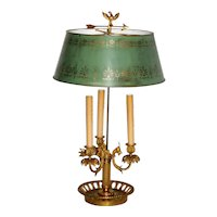Late 19th Century French Bouillotte Lamp