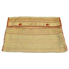 Needlework Bag of Amalia Lundquist of Stockholm, c. 1880s