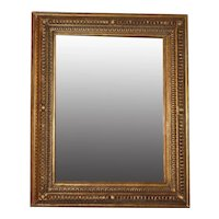 19th Century Handcarved & Gilded Mirror