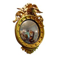 Mid 19th Century Convex Mirror
