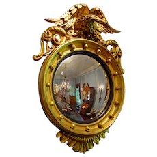 Mid 19th Century Convex Mirror