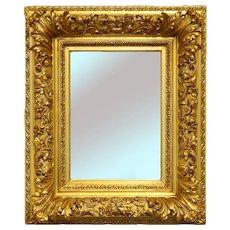 French Baroque Gilt Mirror