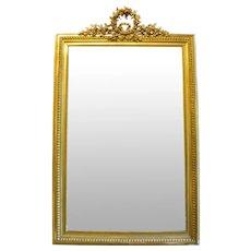 Napoleon III Gilt Mirror