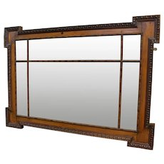 19th Century Over Mantle Mirror