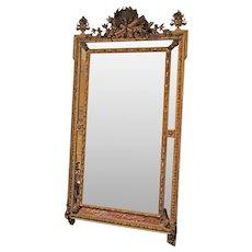 19th Century Louis XVI Style Mirror