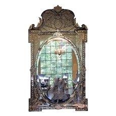 Mid to Late 19th Century Venetian Mirror