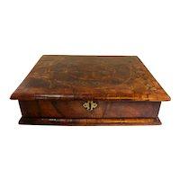 18th Century William & Mary Wooden Dressing Box