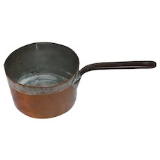 19th Century French Copper Sauce Pan