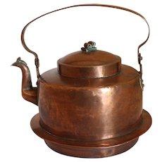 Large Copper Tea Kettle