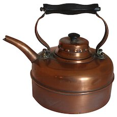 Late 19th Century Copper Kettle