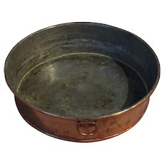19th Century Copper Baking Pan