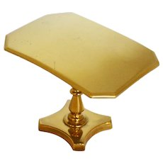 Miniature Brass Tilt-Top Breakfast or Loo Table