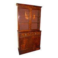 George IV Mahogany Bookcase