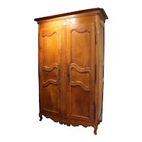 19th Century Country French Armoire