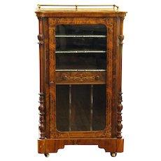c. 1870 English Music Cabinet