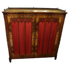 German Gothic Revival Cabinet