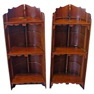 Pair of Mahogany Bookcases
