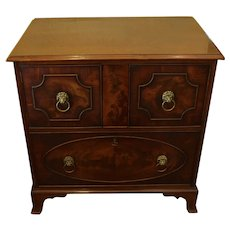 George III Cabinet Over a Drawer