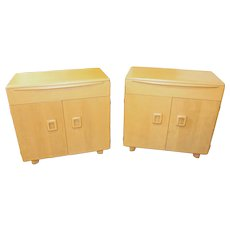Pair of Heywood Wakefield Buffet Cabinets