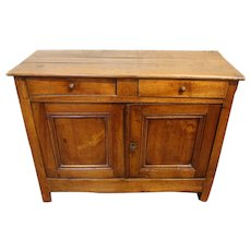 Mid 19th Century French Louis Philippe Small Country Buffet of Cherry Wood