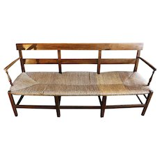 Charles X Cherry Country French Bench
