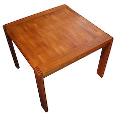 Mid-Century Modern Teak Side Table
