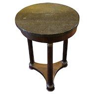 Empire Style Gueridon Table