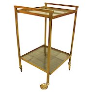 French Art Deco Bar Cart