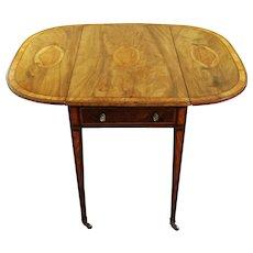 George III Pembroke Mahogany Table