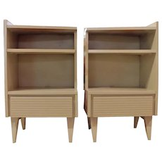 Pair of Mid Century Modern Bedside Tables