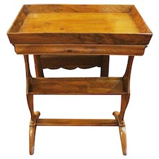 Country French Gallery Top Table