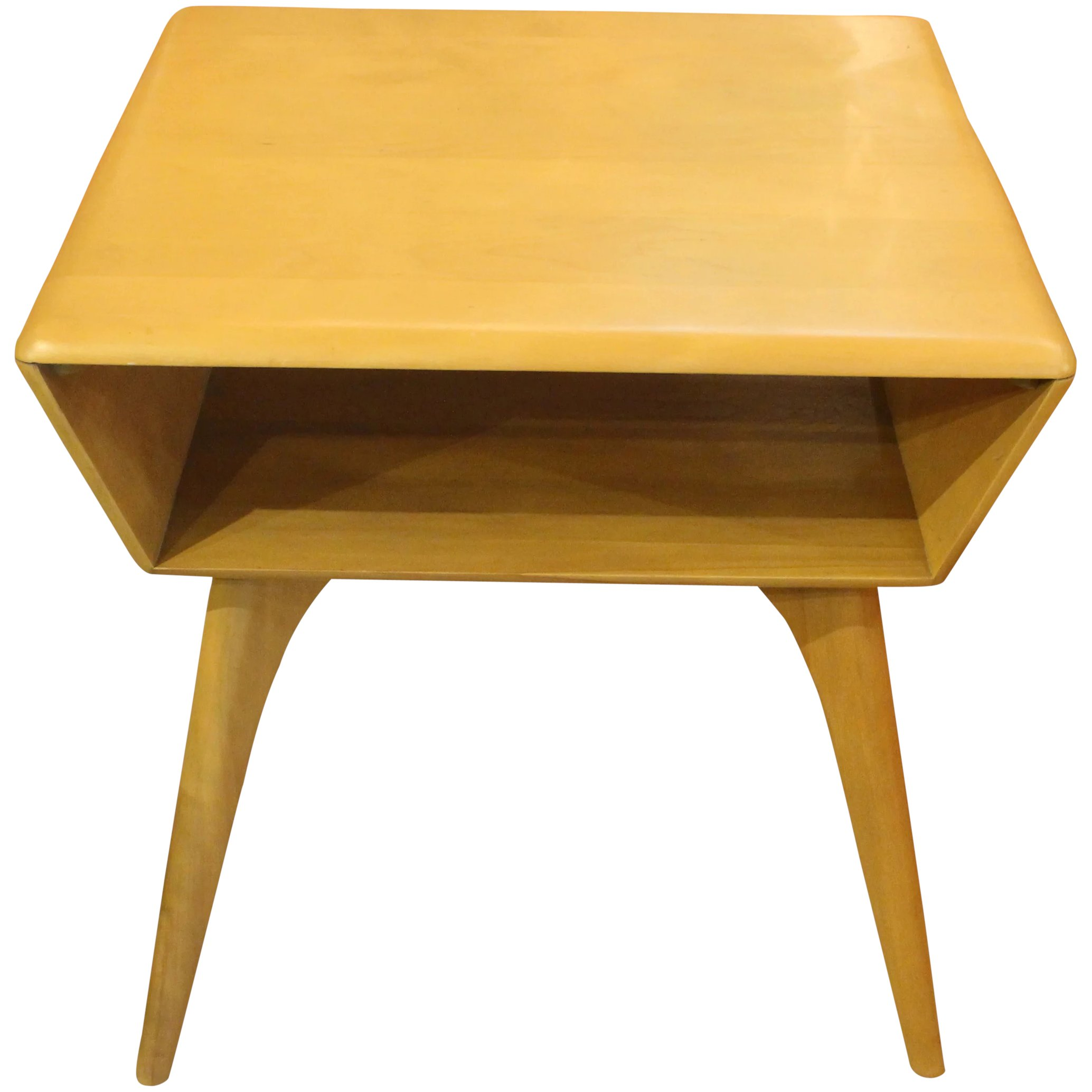 - Heywood Wakefield Side Table : Whitehall Antiques Ruby Lane