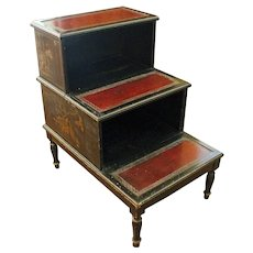 Early 20th Century Chinoiserie-Sheraton Style Side Table