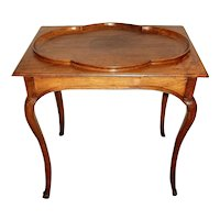 Late 18th Century Country French Table of Walnut