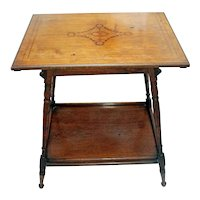 Late 19th Century English Sheraton Revival Side Table